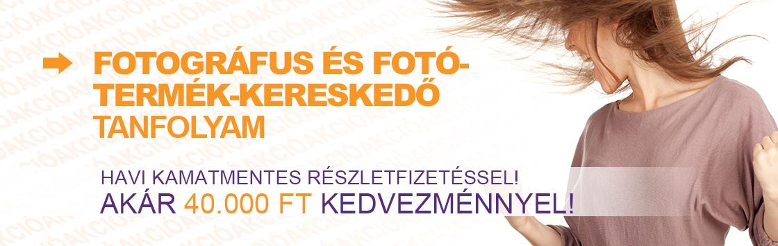 Fotográfus és fotótermék-kereskedő